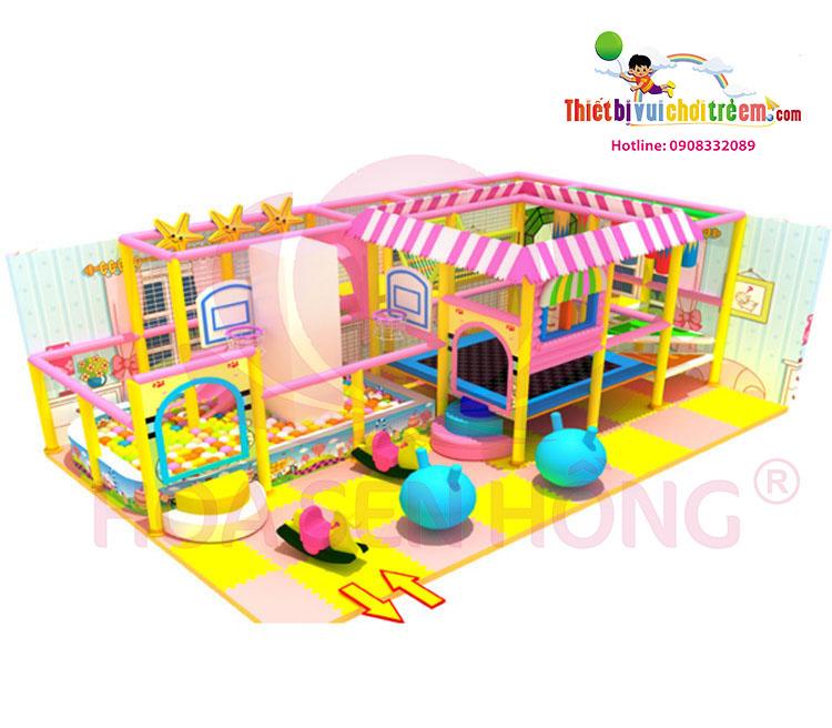 Khu vui chơi trong nhà – Khu vui chơi trẻ em